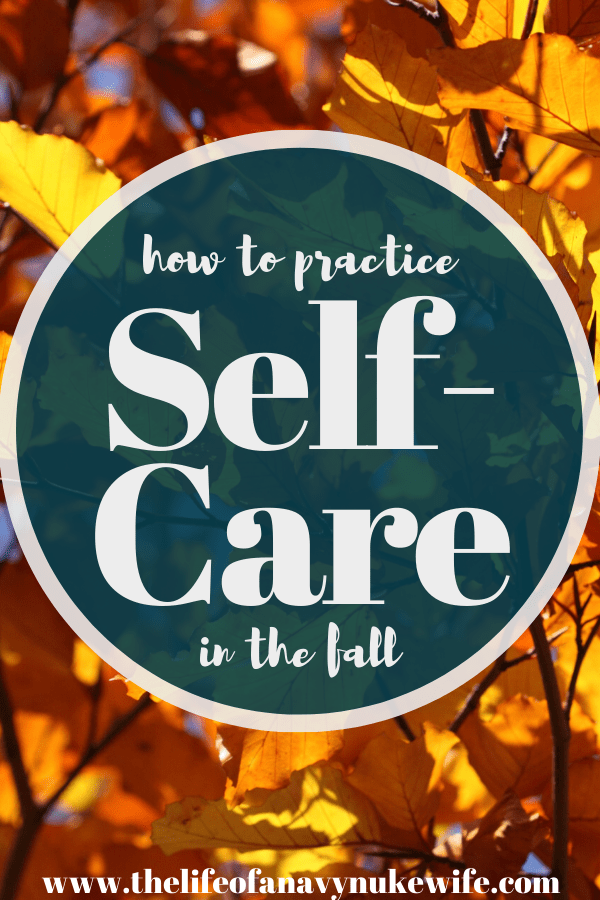 self-care in the fall