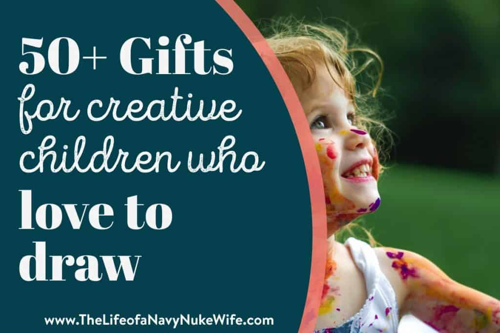 50 Gifts for Creative Children Who Love to Draw