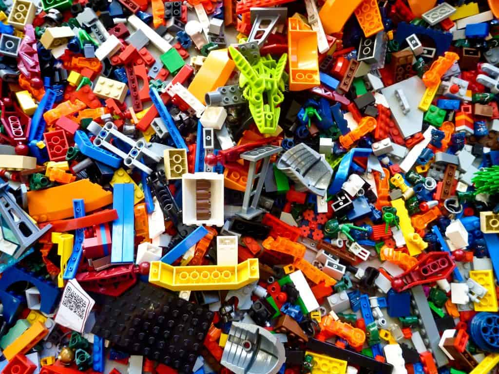 thousands of legos