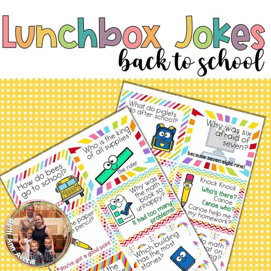 Back to School Lunchbox Jokes